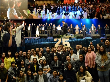 Bro. Eddie Villanueva joins the 25th year Anniversary celebration of Jesus is Lord Sydney