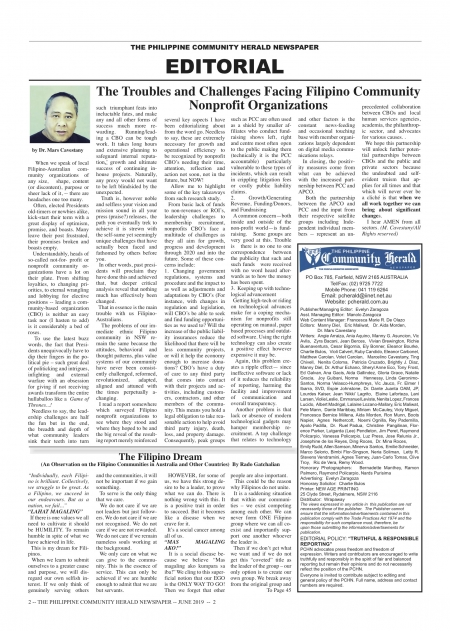 PCHN EDITORIAL GET YOUR LATEST COPY TODAY!