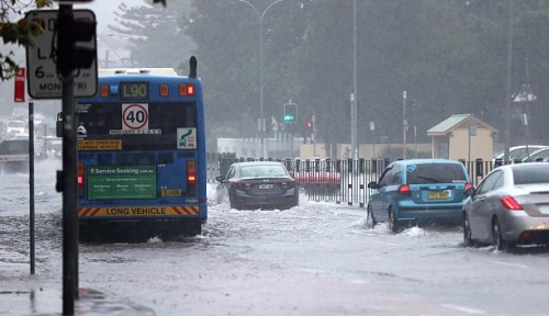 Sydney wild weather: Roads closed, residents evacuated as east coast low intensifies