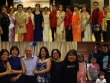 Prof Joseleo Logdat and Dr Raul Navarro (in red barongs) at the Philippine Independence Day Ball in Canberra.with the Filipino-Australian community leaders and guests.  (left) Catching up with former workmates Lyn Nadeska, Mai Ann Lim, Diane Thomson, Rachell Angeles, Fe Buchman and Evy Cummins.  Ms Ellen Regalado, Cultural Officer of the Philippine Embassy 2009-2015 with her family at the farewell party in Canberra.