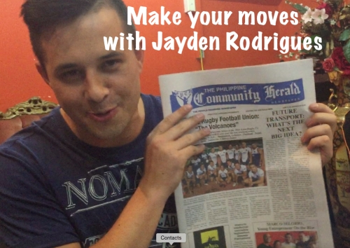 Youtube star Jayden Rodrigues